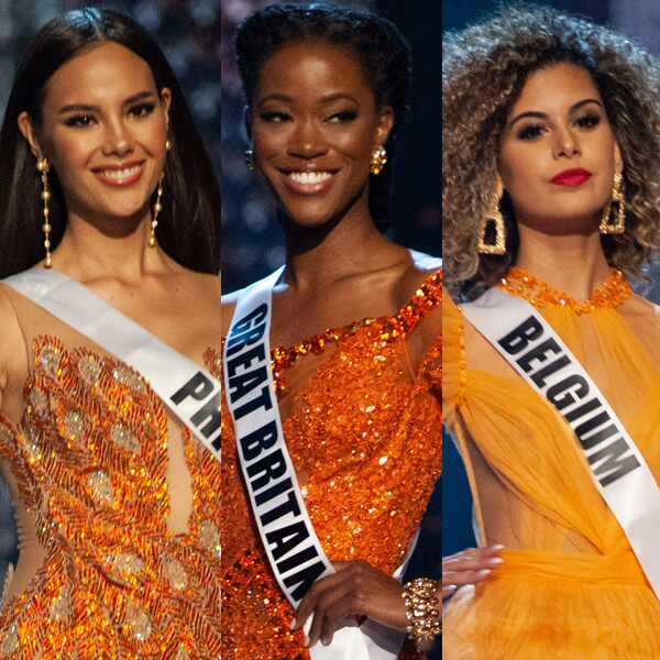 Miss Philippines, Miss Great Britain, Miss Belgium, Miss Universe 2018